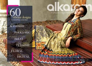 Alkaram 60 Vibrant Designs For This Fall Winter 2014-15