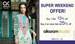 Alkaram Pashmina Shawls Collection 2014-15 For Winter