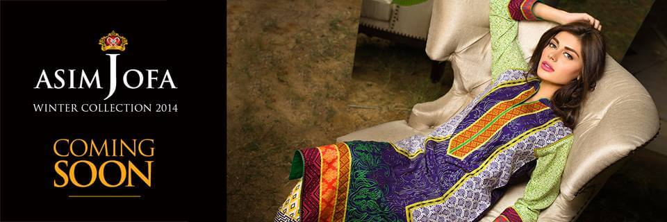 Asim Jofa Latest Fall Winter Collection 2014-15