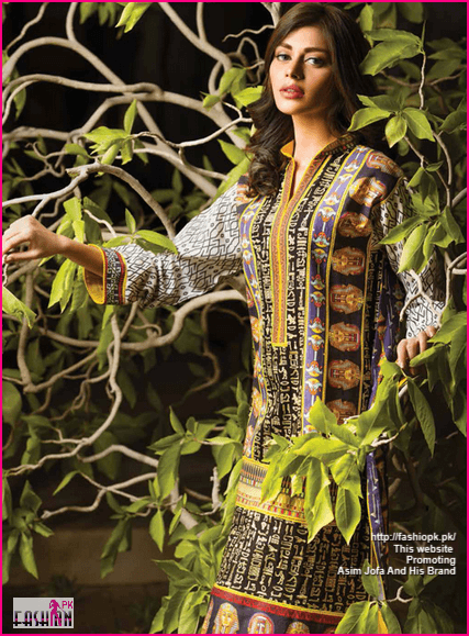 Asim Jofa Latest Winter Collection For Christmas And Happy New Year 2014