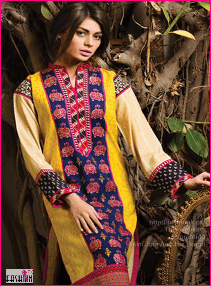Asim Jofa Winter Fall Latest Collection 2014-15