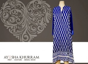 Ayesha Khurram Trendy Collection 2014-2015