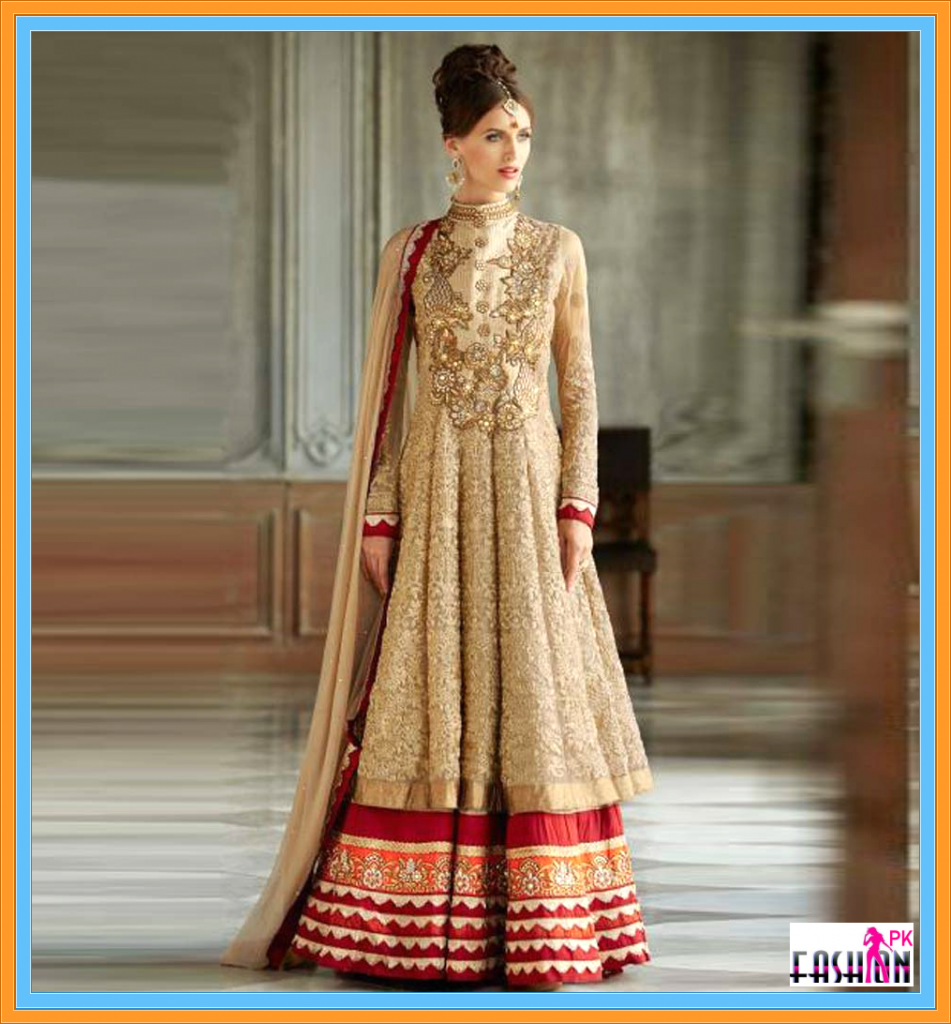 CHIKOO WEDDING ANARKALI DRESS