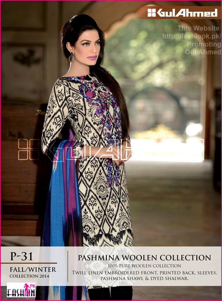 Gul Ahmed Winter Collection 2014 By Gul Ahmed Online Shop