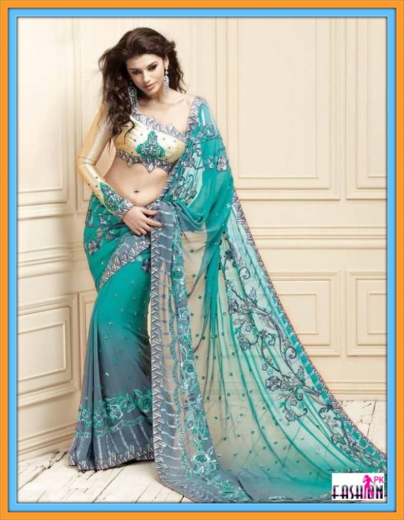 Indian Designer Saree Collection Hot Style