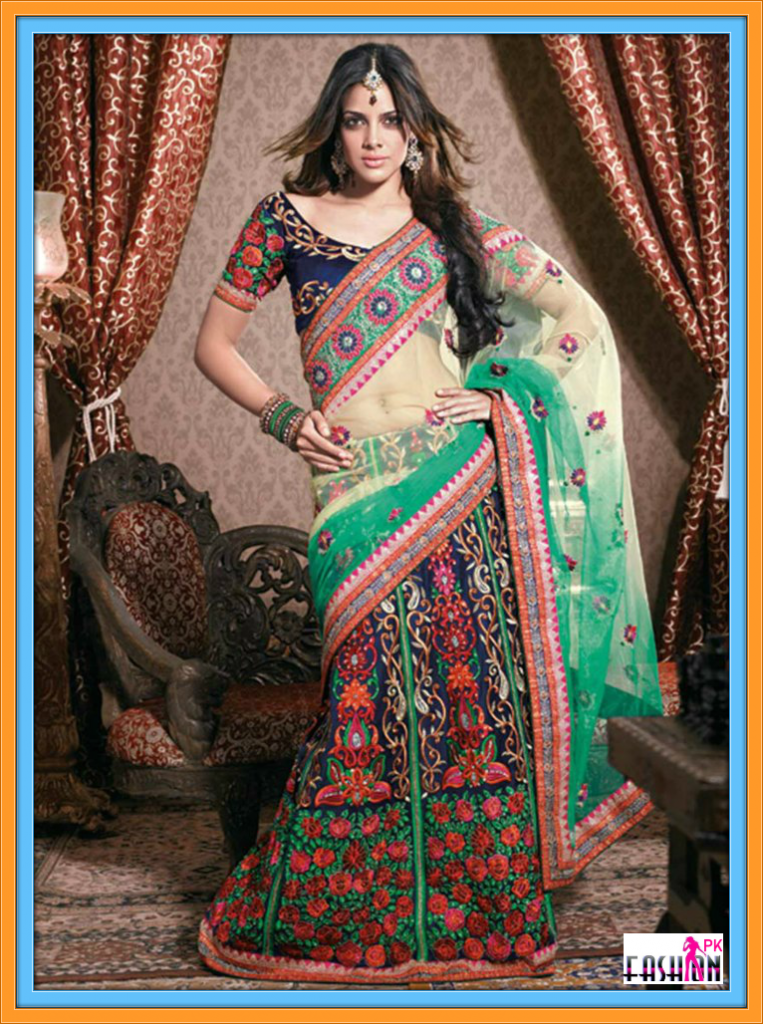 Latest Bridal WEDDING SAREE Fall Winter