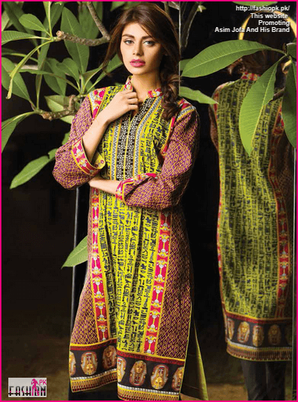 Latest Collection Of Asim Jofa Fall Winter 2014-15 With Prices