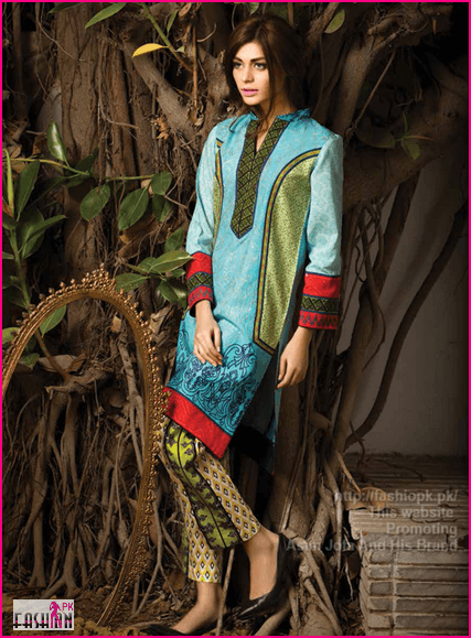 Latest Fresh Winter Collection Of Asim Jofa 201-15