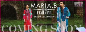 Maria B Indian Pashmina Collection Coming Soon 2014-15