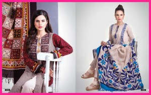 Nishat Fall Winter Karandi 2014-15