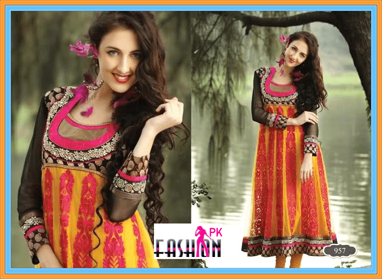 Pakistani Shalwar Kameez Dresses For Girls