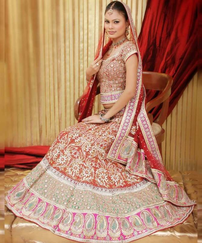 Pakistani Wedding Dresses 2014 For Bridal