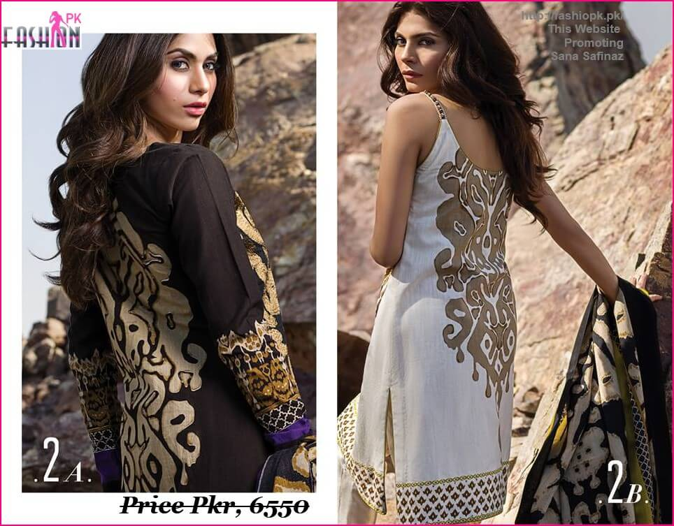 Check Out Here Designer Sana Safinaz Winter Shawl Collection 2014 2015