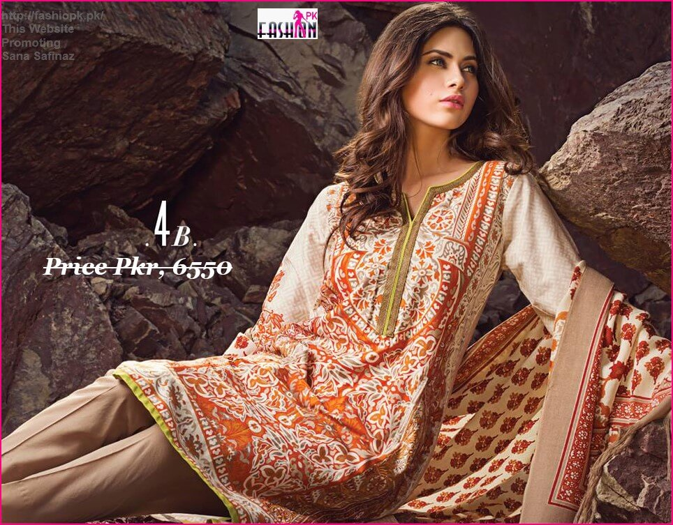Sana Safinaz Latest Winter Collection 2014-15