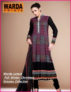 Warda Latest Fall Winter Christmas Dresses Collection