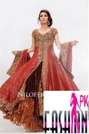 Nilofar Bakhtiar Lehenga Fashion Design 2014_15